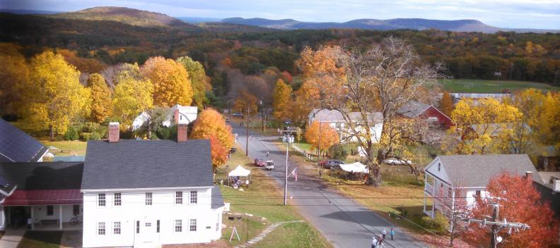 view from church steeple